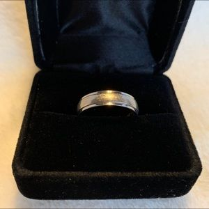 Other - Titanium 5mm Comfort-Fit Ring - Size 6.5